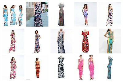 US SELLER- wholesale lot of 60 Discount Hippie maxi long dresses for women