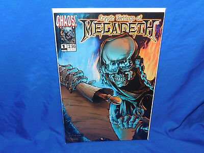Cryptic Writings Of Megadeth #1 Justiniano Cover,dave Mustaine Vf/nm