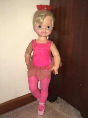 1968 Mattel Dancerina Ballerina Ballet Baby Doll Repair Or Parts 23