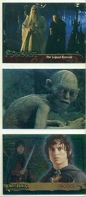 Promo Card Lot - The Lord Of The Rings - 3 Different Cards - Lotr