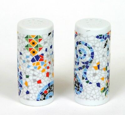 Set Salero Pimentero Merchadising Antoni Gaudi Salt and Pepper Shaker Nuevo