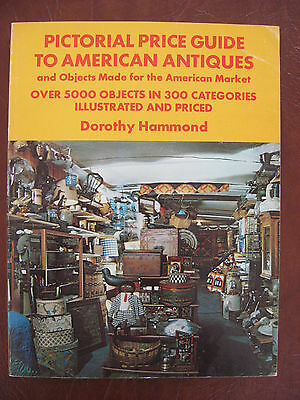 Pictorial Price Guide To American Antiques 1977 Paperback