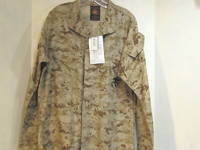 Usmc Military Desert Digital, Desert Marpat Combat Jacket Medium Regular Nwt