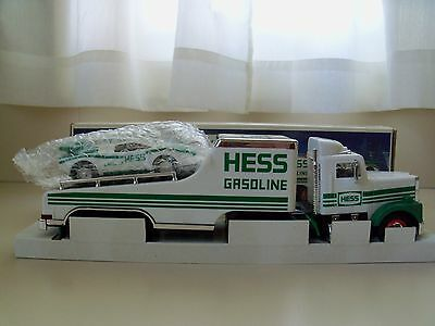 1991 Hess Toy Truck - Toy Truck And Racer - New In Box