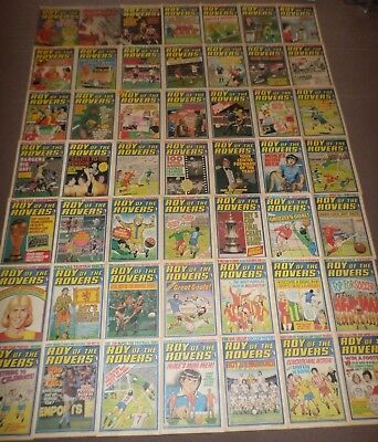 49 x ROY OF THE ROVERS from 1978 - Complete Year