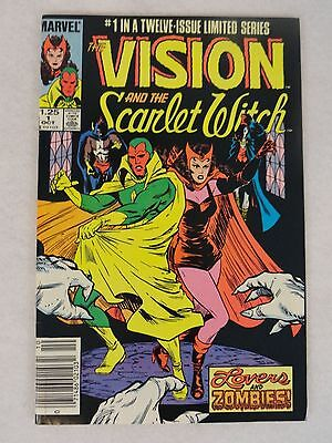 Vision And The Scarlet Witch #1 Marvel Comics Avengers 1985