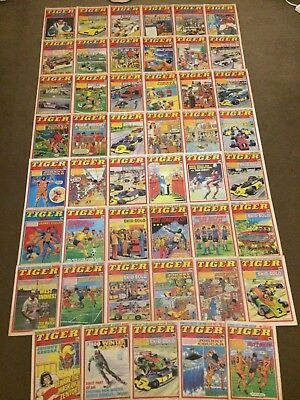 47 x TIGER comics from 1980 - Complete Year