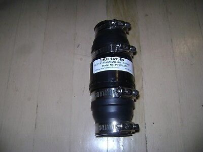 ProPumber Model # PPSPC-150 Plastic In-line Sump Pump Check Valve 1 1/4 & 1 1/2""