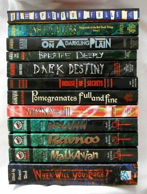 Lot of 12 ~A World of Darkness~PB Dark Fantasy Books~Vampire The Masquerade++