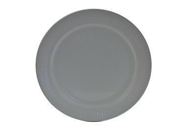 """Johnson Brothers Ironstone Athena White Ribbed 10"""" Dinner Plate"""