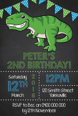 Dinosaur Birthday Invitations Jurassic Park World Invites