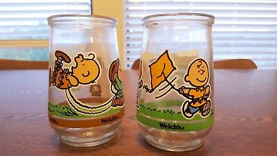 Peanuts Welch's Jelly Jars (Set of 2, Scenes 3 and 4)