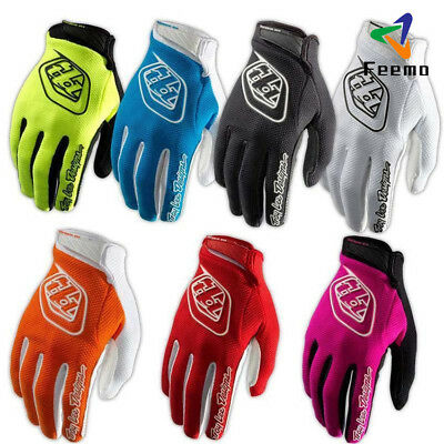 Durable MTB Cycling Bicycle Bike Motorcycle Sport Full Finger Gloves Colorful