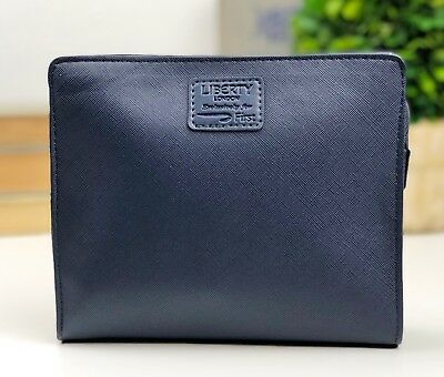 BRITISH AIRWAYS Liberty London FIRST CLASS Men's Navy Blue Amenity Kit NEW