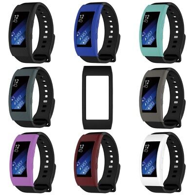 Silicone Case Watch Cover Protector for Samsung Gear Fit 2 Pro SM-R360 SM-R365