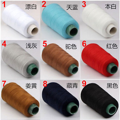 20s/3 1300 Yards Jeans Overlocking Sewing Machine Polyester Thick Thread zs