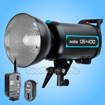 Godox QS-400 QS400 400W Studio Flash Strobe Light Lamp w/ FT-16 Trigger 100-120V