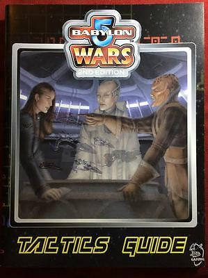Babylon 5 Wars Tactics Guide - Agents of Gaming BW-170 - NEW
