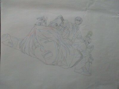 Full Metal Panic ! Production Douga Genga Anime not cel