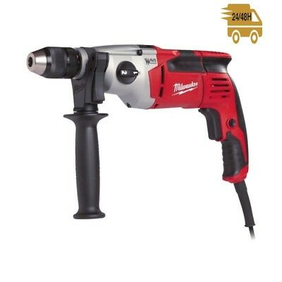 MILWAUKEE Trapano Percussione PD2E 22R PROFESSIONALE due velocita' 850W