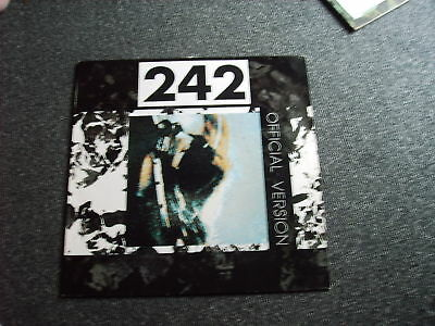 Front 242-Offical Version LP-Made in Germany