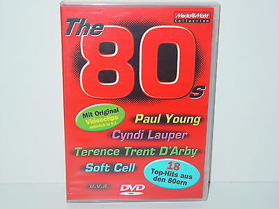 "*****DVD-VARIOUS ARTISTS""THE 80s-MEDIA MARKT COLLECTION""-2004 Sony Music*****"