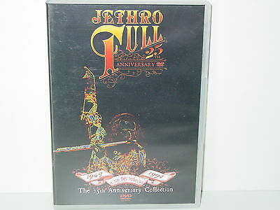 """*****DVD-JETHRO TULL""""A NEW DAY YESTERDAY-THE 25th ANNIVERSARY COLLECTION""""*****"""