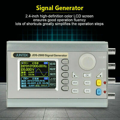 JDS2900 15-60MHz LCD Digital Dual Channel DDS Function Signal Generator Counter
