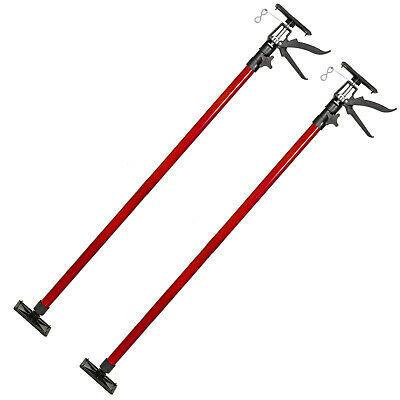 Etai télescopique support barre tiges traverse de plafond set 115-290cm 30kg rou
