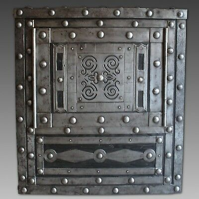 Italian studded Safe Strongbox - early 19th century