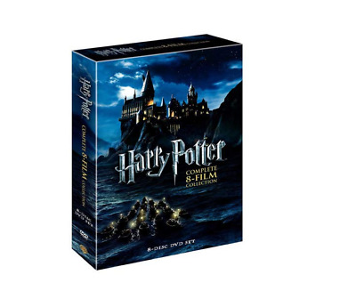 Harry Potter Complete 8-film Collection 8-disc DVD Set 2011 Full Filmography