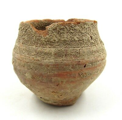 Authentic Ancient Roman Legionary Terracotta Cup -  L91