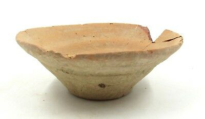 Authentic Ancient Roman Legionary Terracotta Bowl -  L92