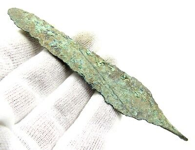 Authentic Ancient Greek Bronze Arrow  - L125