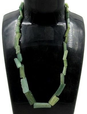 Authentic Ancient Roman Glass Beaded Necklace - G180