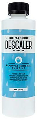 Impresa Products Ice Machine Cleaner/Descaler 4 Uses Per Bottle Made in USA on