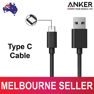 Anker Type C USB Data Sync Charger Fast Charging Cable Cord For Samsung S8 Plus
