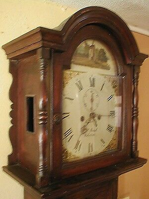 Bargain 8 Day Longcase Just 76.5In High Only £275 Working Order