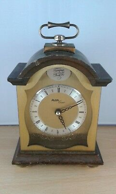 Blessing 'tempus Fugit' Wood & Brass Carriage Clock, German Movement, Spares