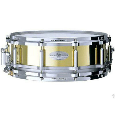 Pearl FB1450/C Free Floating Messing Brass Snare 14 x 5