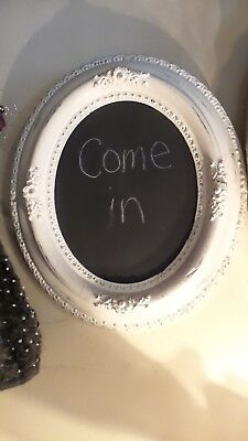shabby chic vintage frame with chalkboard Wall Hanging* Shabby French Cottage