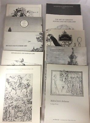 European Art Dutch Italian Flemish Medieval Lot of 10 Byzantine Auction Catalogs