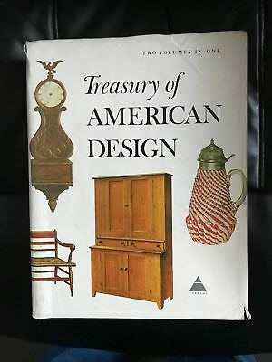 Book Treasury of American Design Two Volumes in One 846 Pages 2900 Illustrations