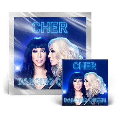 Cher - Dancing Queen Bundle: CD + Lithograph (Brand New)