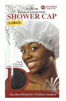 Donna/Magic Large Shower Cap, Elasticated, 100 % Waterproof. 6 Colours available