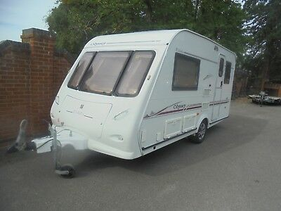 2006 Eldiss Oddesy 432 2 Berth Caravan Alloy Wheels Easy Move No Reserve