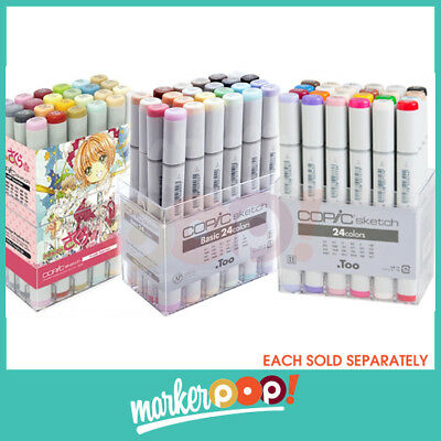 COPIC Empty Wallet for 24//36//72 Markers with Logo .COPIC US AUTHORIZED RETAILER
