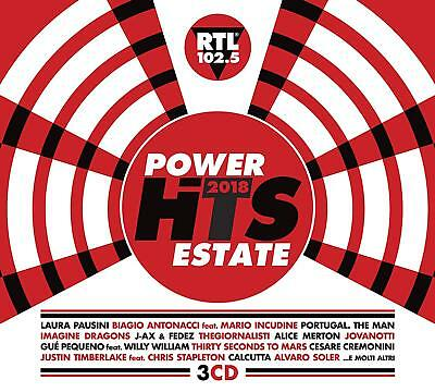 Power Hits Estate 2018 ( 3 CD - Compilation )