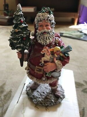 Duncan Royale Today's Nast  Santa Figurine