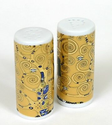 Set Salero Pimentero Merchadising Gustav Klimt Salt and Pepper Shaker Nuevo